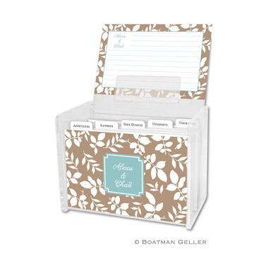 Recipe Box - Silo Leaves